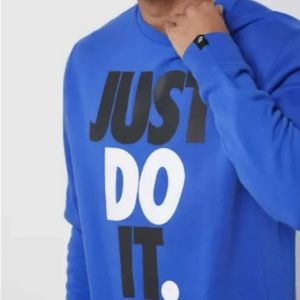 "Nike ""Just Do It"" prints sweatshirt"